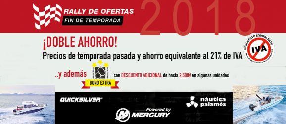Rally ofertas Quicksilver