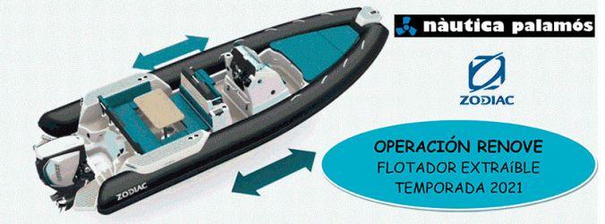 Plan renew Zodiac floats